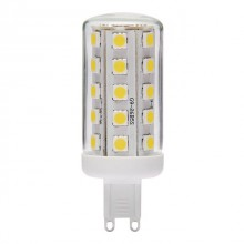 Żarówka LED 4W G9 230V AC 34 SAYA LED34 SMD G9-WW ciepłobiała