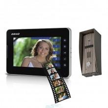 Zestaw wideodomofonowy dotykowy jednorodzinny z kolorowym ekranem TFT-LCD 7 cali wbudowana pamięć