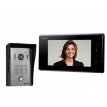 Zestaw wideodomofonowy jednorodzinny z ekranem TFT-LCD 7 cala FORIS N czarny OR-VID-VP-1024
