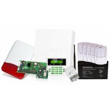 Zestaw alarmowy centrali CA5PLUS SET z czujkami i sygnalizatorem