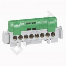 Listwa przyłączeniowa 35-otworów zielona IP2xZ35 004838