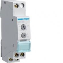 Przekaźnik czasowy cykliczne przełączanie 12-230V AC/12-48V DC 1P 8A EZN005