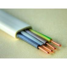 Przewód instalacyjny YDYp 4x4 biały 450/750V /100m/ - krążek