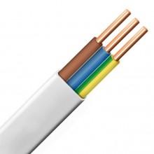 Przewód YDYp 3x1,5 żo biały 450/750V /100m/ - krążek