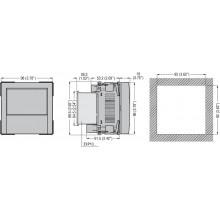 Przekaźnik PV nadzorun apięcia i częstotliowści 100V-400V AC /110-250V DC 50/60Hz norma CE I0-16 PMVF30