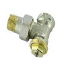 Zawór termostatyczny kątowy Kv 0,028 - 0,49 - nowa wersja