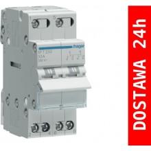 SFT232 Modułowy przełącznik instalacyjny I-O-II, punkt wspólny od góry 2-biegunowy 32 A