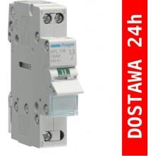 SFL116 Modułowy przełącznik instalacyjny I-II, punkt wspólny od dołu, 1-biegunowy 16 A