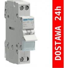SFT125 Modułowy przełącznik instalacyjny I-O-II, punkt wspólny od góry 1-biegunowy 25 A