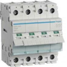 SBN490 Modułowy rozłącznik izolacyjny 4-biegunowy 100 A