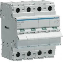 SBN499 Modułowy rozłącznik izolacyjny 4-biegunowy 125 A