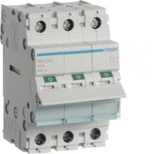 SBN340 Modułowy rozłącznik izolacyjny 3-biegunowy 40 A