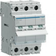 SBN399 Modułowy rozłącznik izolacyjny 3-biegunowy 125 A