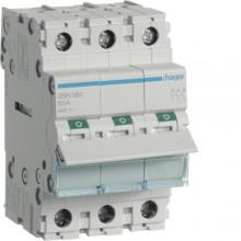 SBN380 Modułowy rozłącznik izolacyjny 3-biegunowy 80 A