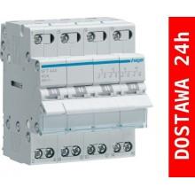 SFT440 Modułowy przełącznik instalacyjny I-O-II, punkt wspólny od góry 4-biegunowy 40 A