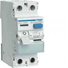 CDA240J RCCB Wyłącznik różnicowoprądowy 2P 40A/30mA Typ A