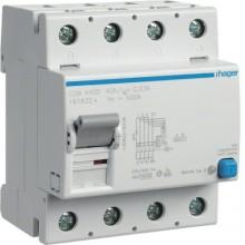 CDB440D RCCB Wyłącznik różnicowoprądowy 4P 40A/30mA Typ B