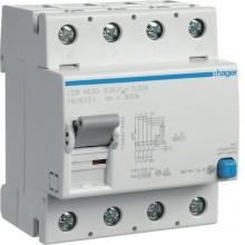 CDB463D RCCB Wyłącznik różnicowoprądowy 4P 63A/30mA Typ B