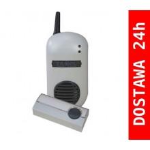 DRS-982K BULIK Dzwonek bezprzewodowy z przyciskiem hermetycznym PDH-227, szary