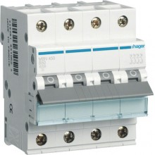 MBN450E MCB Wyłącznik nadprądowy 6kA 4P B 50A