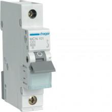 MCN101E MCB Wyłącznik nadprądowy 6kA 1P C 1A
