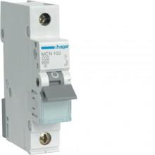 MCN102E MCB Wyłącznik nadprądowy 6kA 1P C 2A