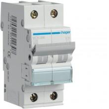 MCN206E MCB Wyłącznik nadprądowy 6kA 2P C 6A