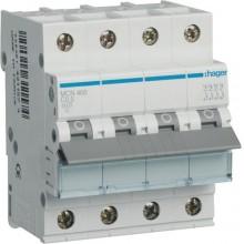 MCN400E MCB Wyłącznik nadprądowy 6kA 4P C 0,5A