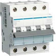 MCN402E MCB Wyłącznik nadprądowy 6kA 4P C 2A