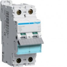 NCN240 MCB Wyłącznik nadprądowy Icn-10000A / Icu-15kA 2P C 40A