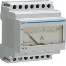 SM100 Amperomierz analogowy przekładnikowy 0-100A