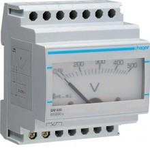 SM500 Woltomierz analogowy bezpośredni 0-500V