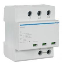 SPA400 Ogranicznik przepięć iskiernikowy, 3-biegunowy TN-C, ochrona dwustopniowa