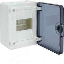 VS104TD Rozdzielnica natynkowa golf, IP40, drzwi transparentne, 4M