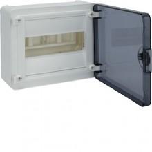 VS108TD Rozdzielnica natynkowa golf, IP40, drzwi transparentne, 8M