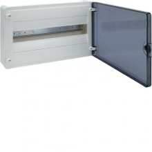 VS118TD Rozdzielnica natynkowa golf, IP40, drzwi transparentne, 18M