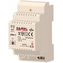 ZSM-11 Zasilacz stabilizowany 3-24 V d.c., 0,125 A