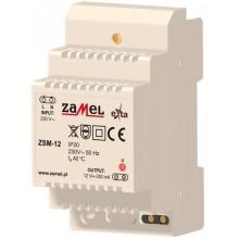 ZSM-12 Zasilacz stabilizowany 12 V d.c., 0,25 A