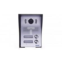 Zestaw wideodomofonowy dwurodzinny z ekranem TFT-LCD 7 cala i czytnikiem zbliżeniowym czarn
