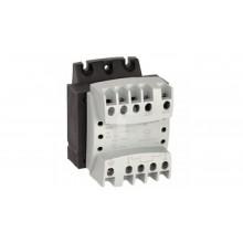 Transformator 1-fazowy TR 100VA 230-400/12-24V 042842