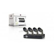 Zestaw do monitoringu 4 kamery CCTV 1/3'' SONY CCD 700TVL + rejestrator 8 kanałowy C8CHCCTVKITP