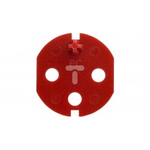 KOS45 Klucz uprawniający do gniazd DATA z taśmą samoprzylepną czerwony 351044