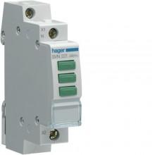 SVN221 Lampka sygnalizacyjna LED 3x zielona 230V AC