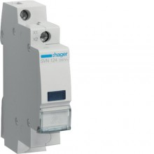 SVN124 Lampka sygnalizacyjna LED niebieska 230V AC