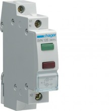 SVN126 Lampka sygnalizacyjna LED zielona+czerwona 230V AC