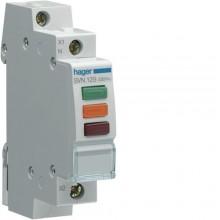 SVN129 Lampka sygnalizacyjna LED czerwona+zielona+pomarańczowa 230V