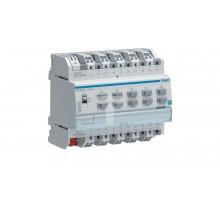 Wyjście binarne 10-krotne 16A 6 modułów IP30 TXA207C