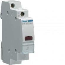 SVN132 Lampka sygnalizacyjna LED czerwona 12-48V AC/DC