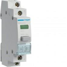 SVN413 Przełącznik przyciskowy 1NO LED zielona 230V 16A