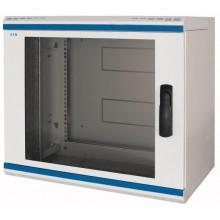 """Obudowa 19"""" 12U 634x600x600mm IP30 NWS-6B12/GL/SH 254938"""
